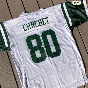 Wayne Chrebet New York Jets Football Jersey Large